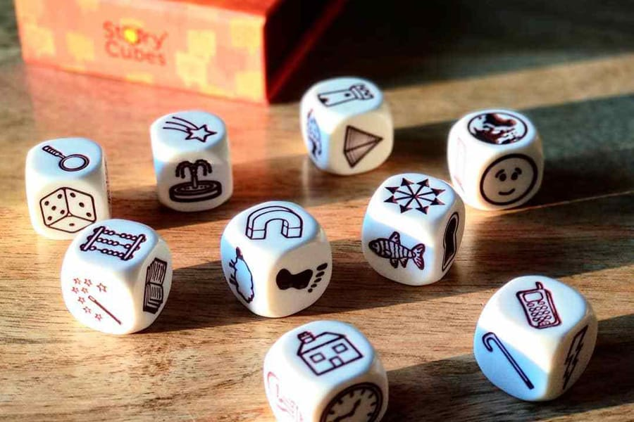 Rory's Story Cubes storytelling